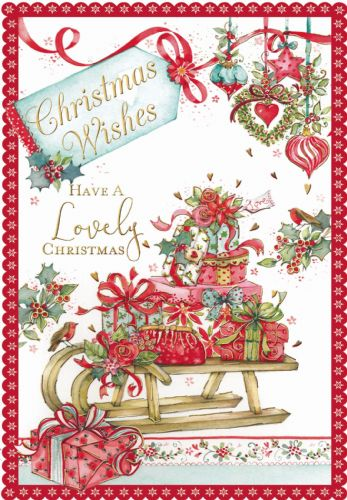 Christmas Wishes Have a Lovely Christmas